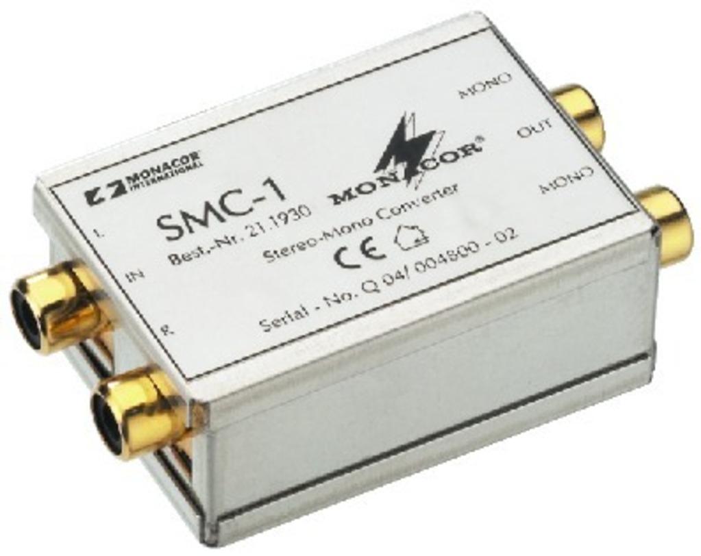 Monacor Smc 1 Stereo Mono Konverter To Circuit