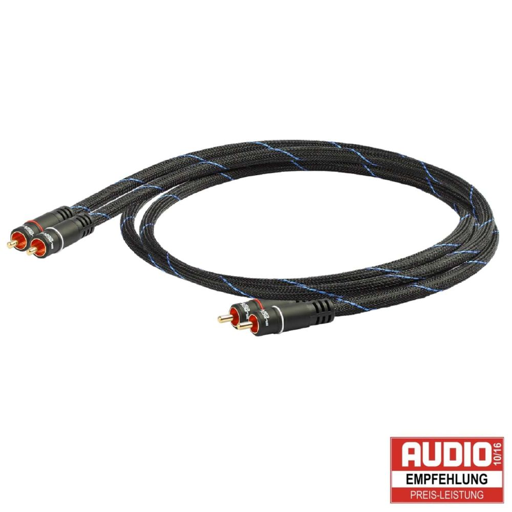 Black Connect - Cinch Kabel Stereo MKII