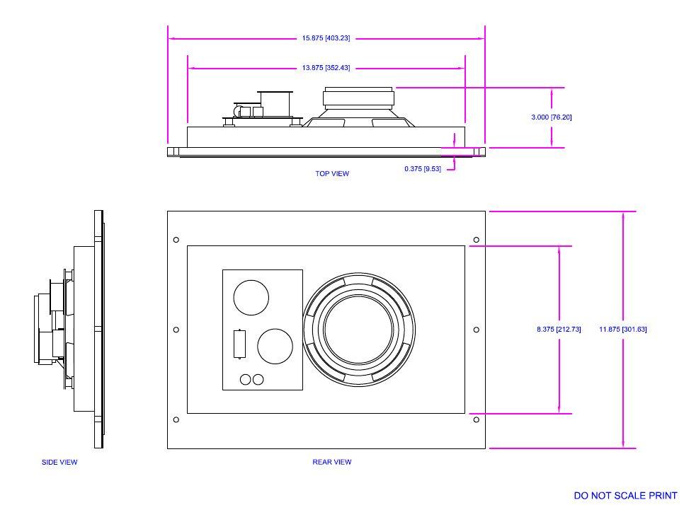 Stealth Acoustics - LR6 G unsichtbarer Lautsprecher