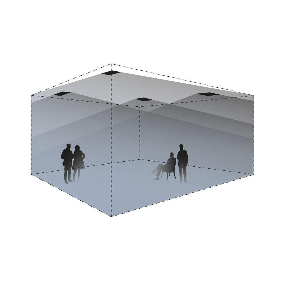 lb Lautsprecher - DE 200 H Polar Deckenlautsprecher 180°