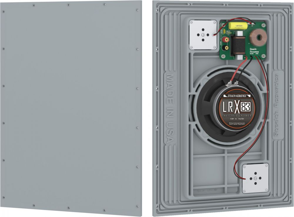 Stealth Acoustics - LRX83 unsichtbarer Lautsprecher