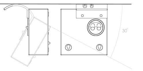 Artcoustic - Deckenhalterung Target