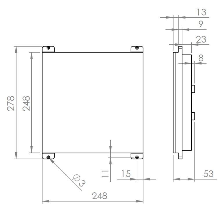 Ceratec - Cerasonar 2525 retrofit unsichtbarer Lautsprecher