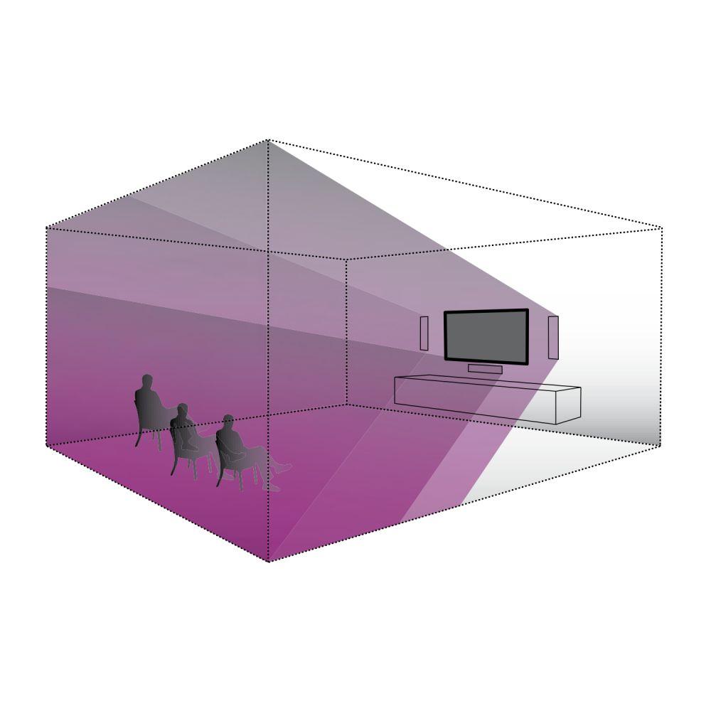 lb Lautsprecher - DE Plan 500 S unsichtbarer Einbaulautsprecher
