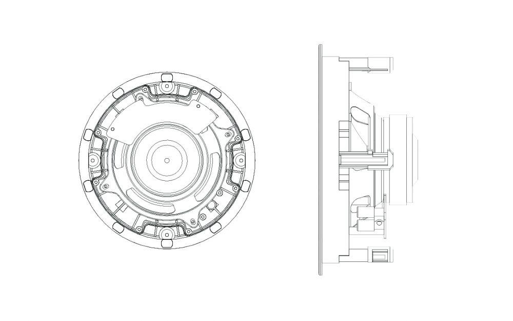 Sonance - C6R Deckeneinbaulautsprecher