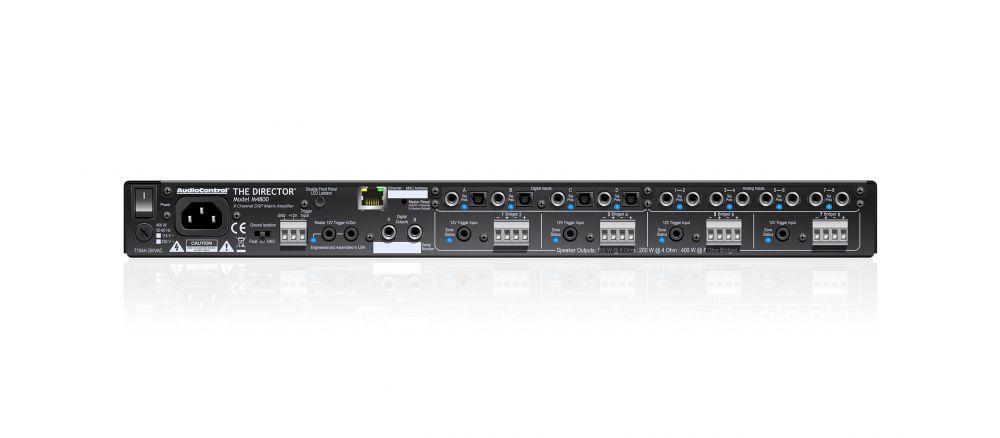 AudioControl - Director M4800 8 Kanal-Verstärker