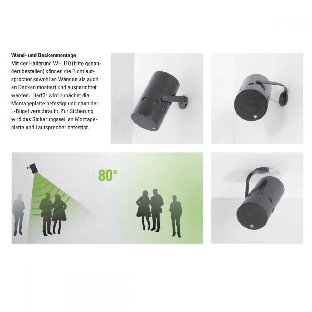 lb Lautsprecher - WH 110 L-Bügel Wandhalterung