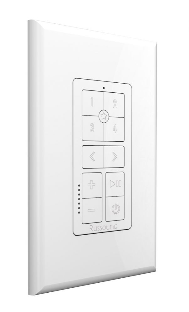 Russound - IPK-1 Multiroom Wandbedienung Keypad