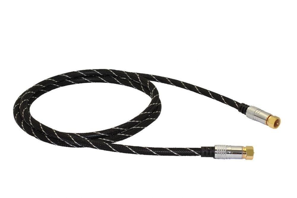 B-Ware / Black Connect - SAT-Antennen Kabel 250cm (Einzelstück)